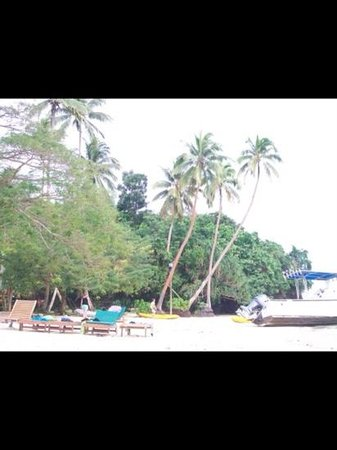 Mango Bay Resort: beach