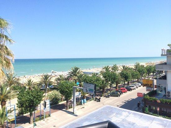 Hotel King : Dal balcone