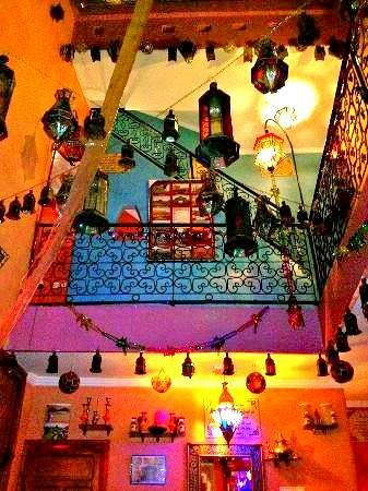 Riad Layla Rouge : Hostel Interior - try and find grey...