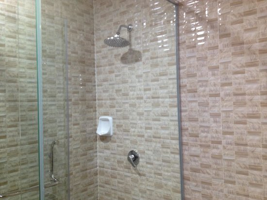 Midcity Hotel Melaka: I like the design of the shower area. It allow water to be drained away quickly.