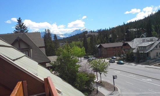 Fox Hotel & Suites: view from balcony