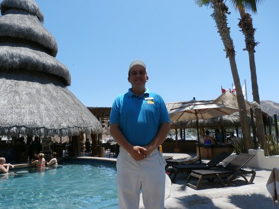 Marina Fiesta Resort & Spa: Picture of Eulid the super pool Waiter!