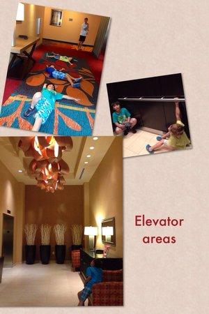 Residence Inn Arlington Ballston: Elevator areas
