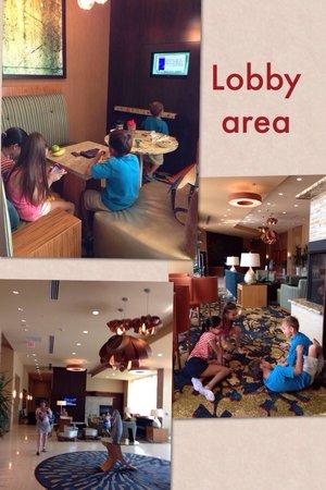 Residence Inn Arlington Ballston: Lobby area
