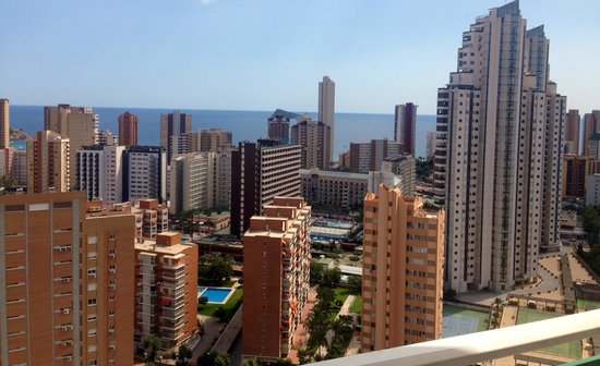 Playamar Apartments Click Benidorm : View from room 22a