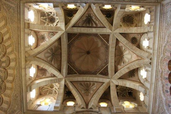 Cathédrale de Cordoue : riqueza do teto!