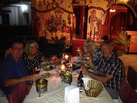 Jashan's Indian Restaurant North Cyprus: Jashan summer setting