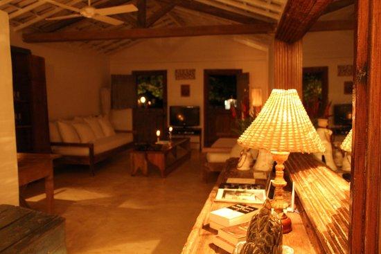 UXUA Casa Hotel & Spa: sala casa Zé e Zilda