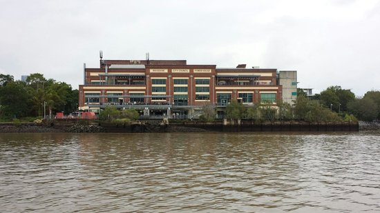 CityCat Ferry : Old Electricity Building