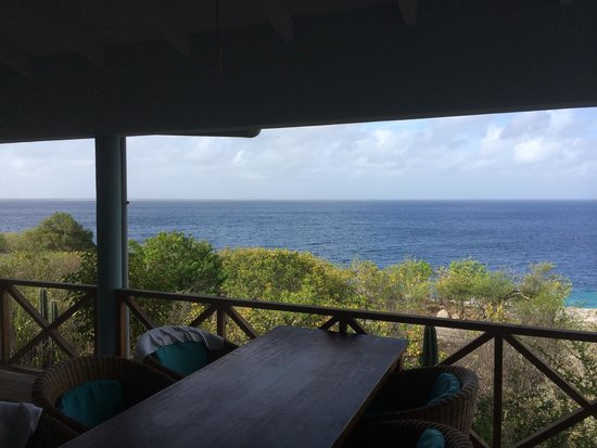 Caribbean Club Bonaire: View from the porch.