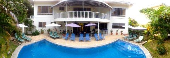 The Hideaway Hotel Playa Samara : Pool&Restaurant Area