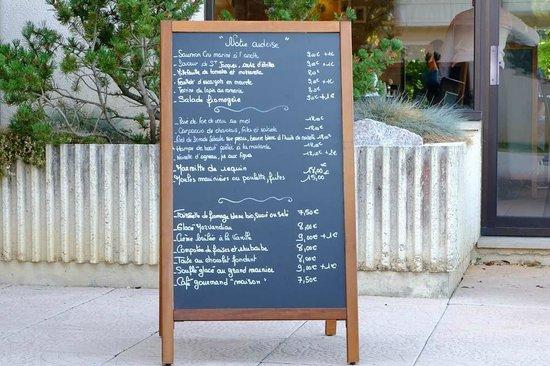 Hostellerie d'Aussois : Kleine, feine Auswahl & für das Burgund sehr faire, kleine Preise!