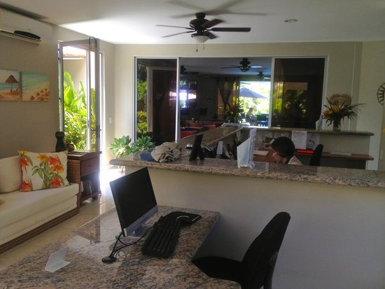 The Hideaway Hotel Playa Samara : Recepcion
