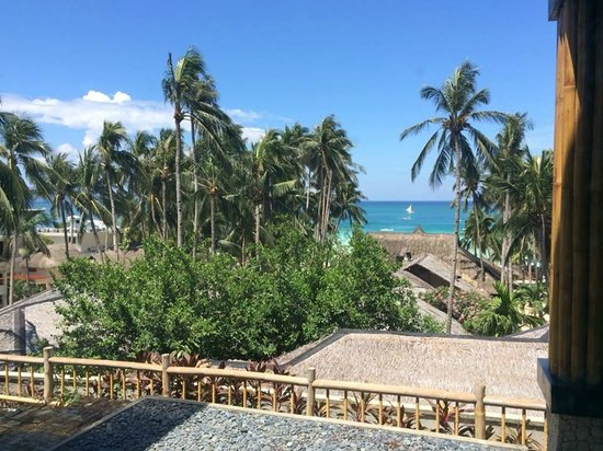 Friday's Boracay: View from the balcony