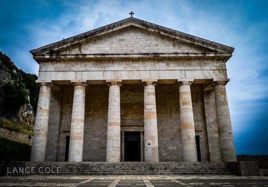 Old Fortress Corfu: the church