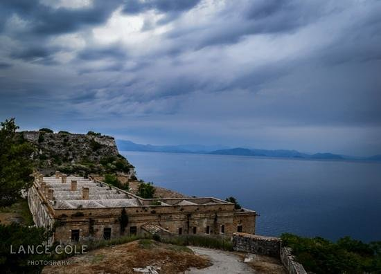Old Fortress Corfu: view from the top