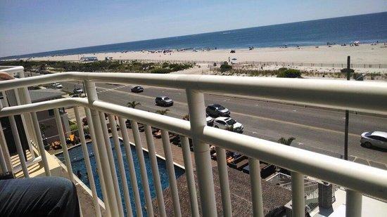 Ocean Club Hotel: Balcony