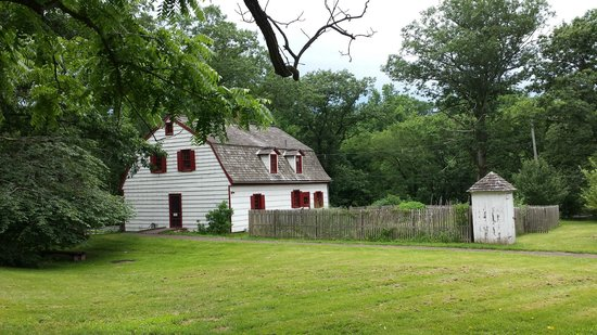 Titusville, NJ: Dutch Farmhouse, circa 1740