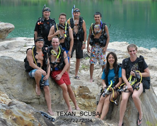 Texan Scuba Inc: Open water diving certification completed-Texan Scuba