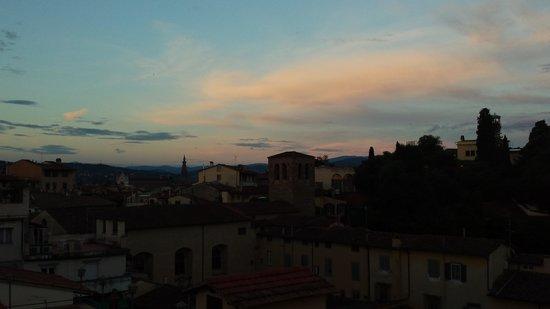 Hotel Restaurant  La Scaletta: rooftop sunset