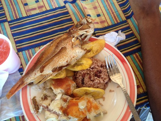 Bay Islands Adventures : Amazing food!