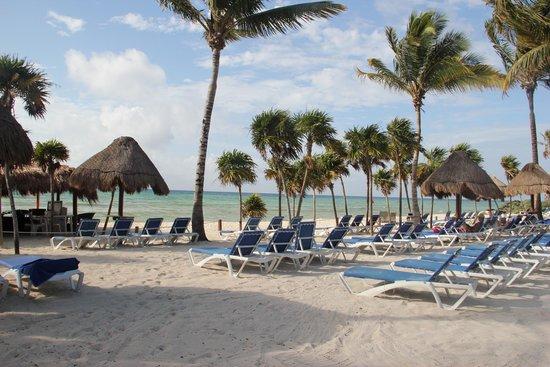 Grand Sunset Princess All Suites Resort: Praia