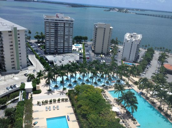 Four Seasons Hotel Miami: View from Bay View, Executive Suite
