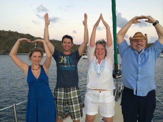 New Horizons Day Sail: Buckeye Friends!
