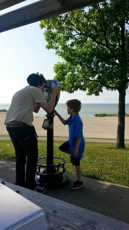 Maumee Bay State Park: Looking at the lighthouse!