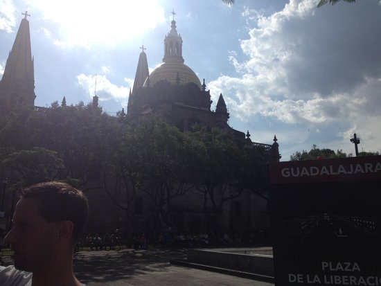 Guadalajara Cathedral: View from behind - Catedral