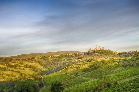 Il Borghetto di San Gimignano Agriturismo : san gimignano on the road to il borghetto