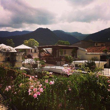 Hotel Sor Juana: Rooftop terrace