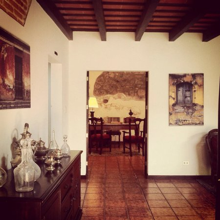 Hotel Sor Juana : Hotel entrance and reception