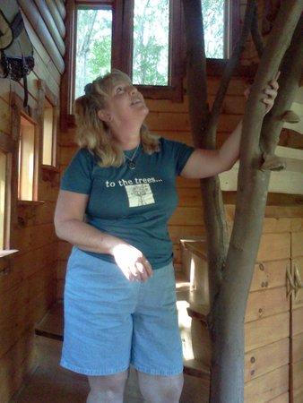 Moose Meadow Lodge: Tree n me