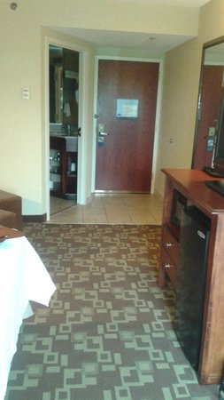 Hampton Inn Indianapolis-South: VIEW OF ENTRANCE INTO ROOM