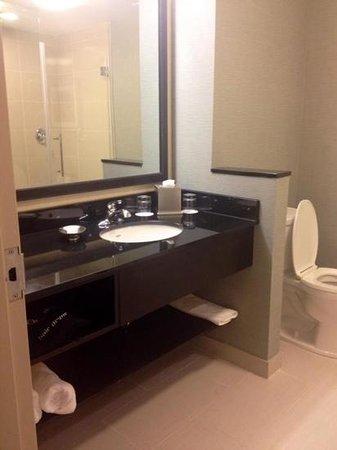 Fairfield Inn & Suites St. John's Newfoundland: bathroom