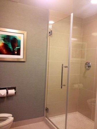 Fairfield Inn & Suites St. John's Newfoundland: shower