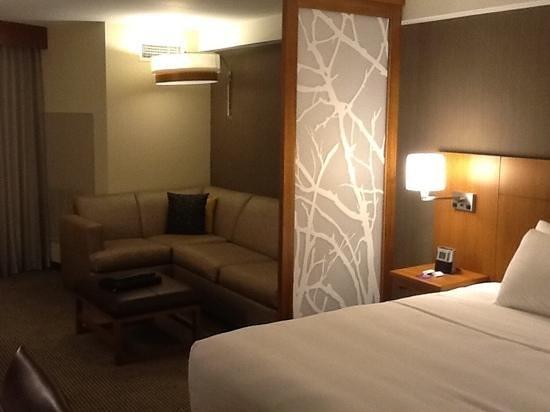 Hyatt Place Daytona Beach - Oceanfront: our room at check in