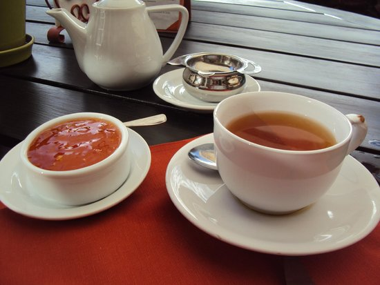 L'Auberge: Chá