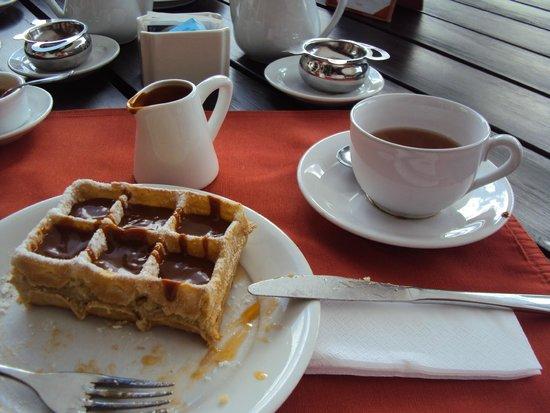 L'Auberge: Metade do waffle