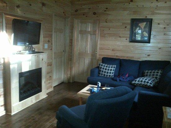 Fairways Cottages : Livingroom