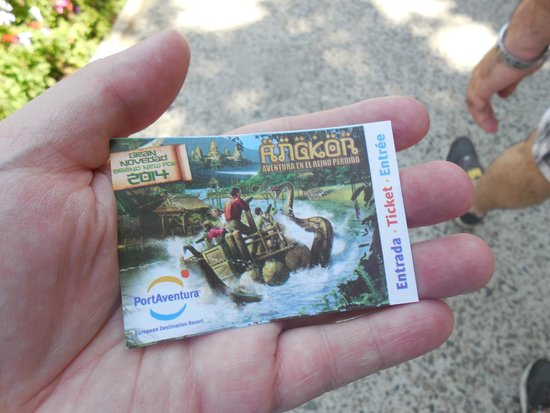 Ticket Euros Avec Aller Retour En Train à Barcelone Picture Of - Billet port aventura