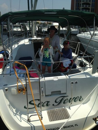 Emerald Coast Yachts Day Tours: Sea Fever FUN!