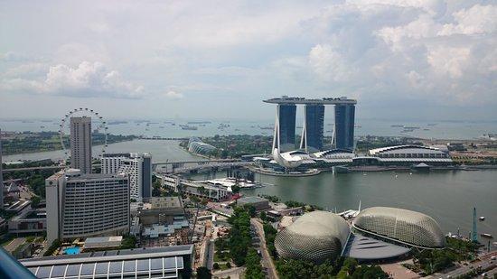 Swissotel The Stamford Singapore: 昼 景観