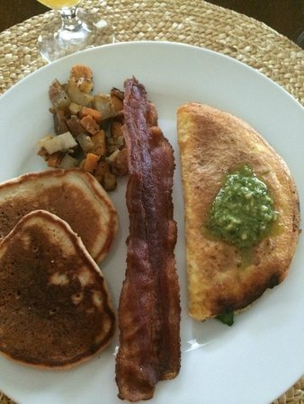 The Prairie Guest House : Breakfast Day 2