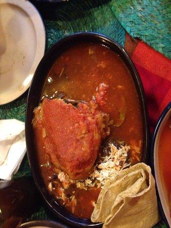 Los Colorines: Tradicional Chile relleno, delicioso!!!
