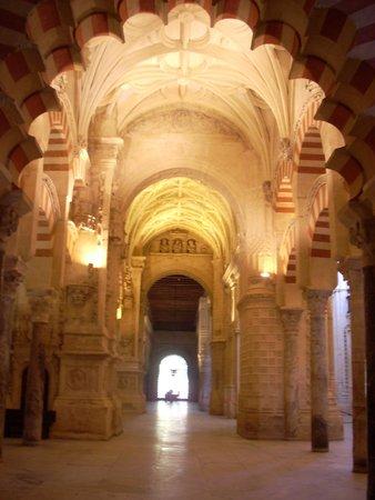 Cathédrale de Cordoue : boveda de la mezquita