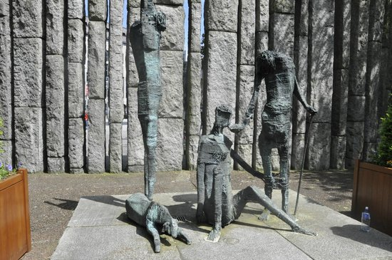 Parque St Stephen's Green: Famine Memorial