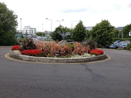 Radisson Blu Hotel, Dublin Airport: landscape was nice