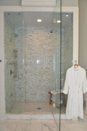 The James Lee House : Lee Suite - steam shower